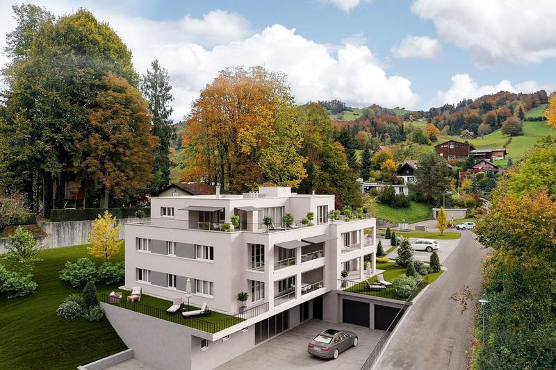 Projektankündigung: ruhig gelegene und zentrumsnahe 3.5-Zimmer-Wohnungen (1)