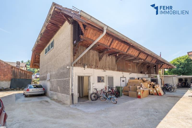 Fehr Immobilien - Bauernhausscheune mit Umnutzungspotential (1)