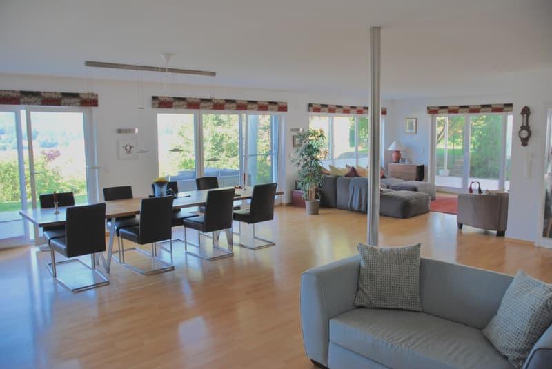 Modernes 6 Zi. Einfamilienhaus mit Garten u. Panorama-Aussicht (2)