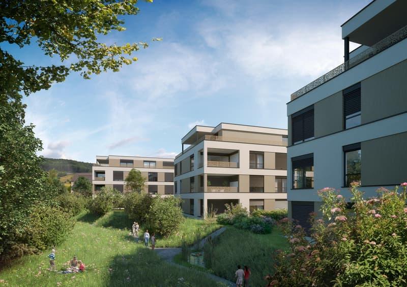 Erstvermietung 3 1/2 Zimmer-Wohnung in Thürnen BL (2)