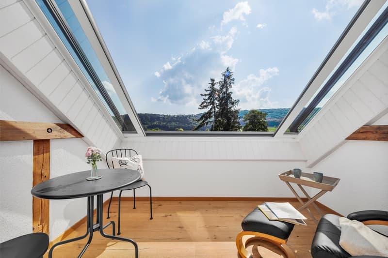 Dachbalkon/Wintergarten (Wohnung 2, 2.OG)