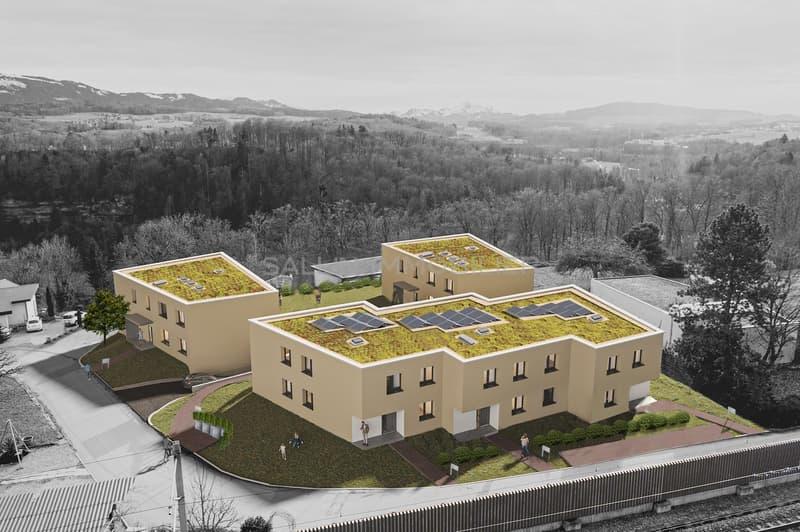 2 appartements de 4½ pièces de standing  + pl. de parc int. (2)
