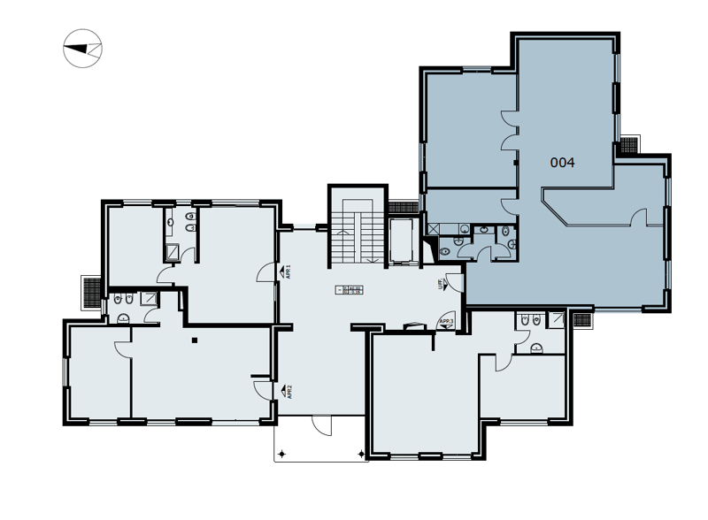 Lugano/Viganello - Affittasi luminoso ufficio di 156 mq (rif. 004) (12)