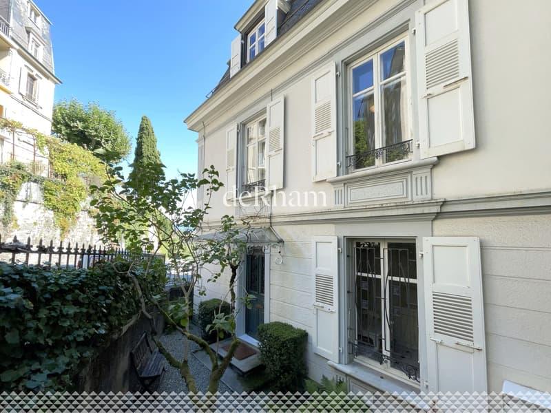 Unique : maison du 19ème au centre de Lausanne (2)