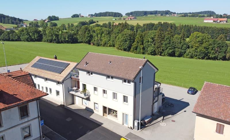 Immeuble mixte en bordure de zone agricole (1)