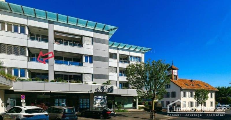 Denges, grand appartement traversant 3,5 pces, 95 m2, RENOVE (13)