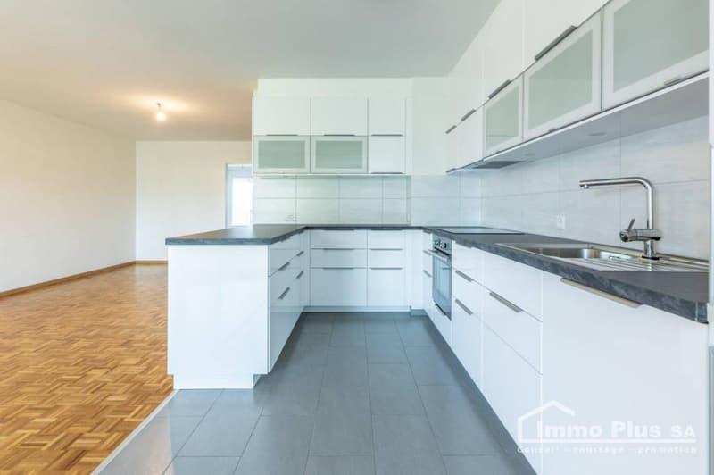 Denges, grand appartement traversant 3,5 pces, 95 m2, RENOVE (2)
