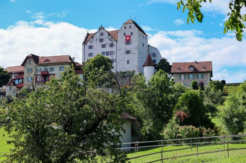 Eindruckvolles Schloss Wildegg