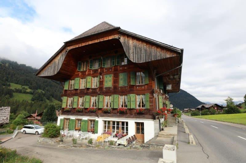 Wohn- und Geschäftshaus mit Baulandparzelle (1)