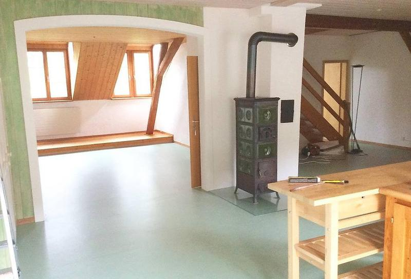 4 1/2 Zi(eigentl. 5) Helle, ruhige Dachwohnung in Bauernhaus (1)