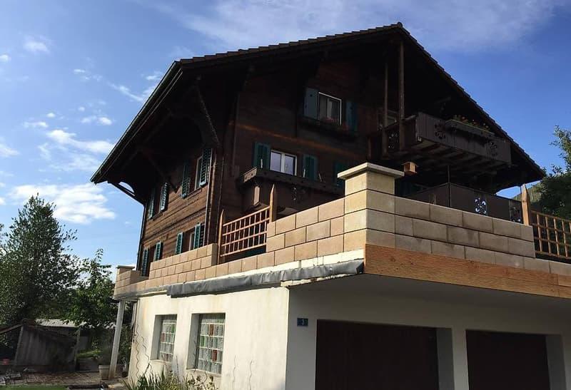 Schöne Terrasse mit dazugehöriger 3.5 Zimmer Wohnung (1)