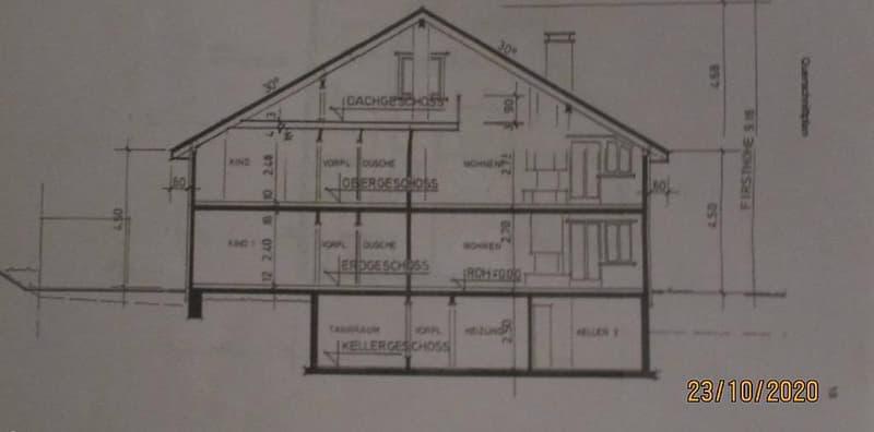 2.Familienhaus, Garagen, Witterswil 1x5Zi 1x51/2 Zi Galerie (1)