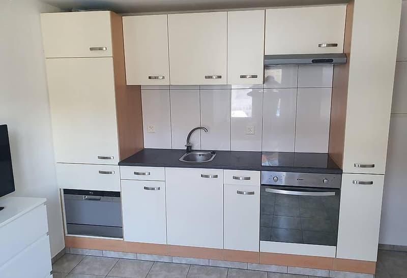 Zu vermieten in 4446 Buckten BL. Renovierte 2 Z.Wohnung (1)