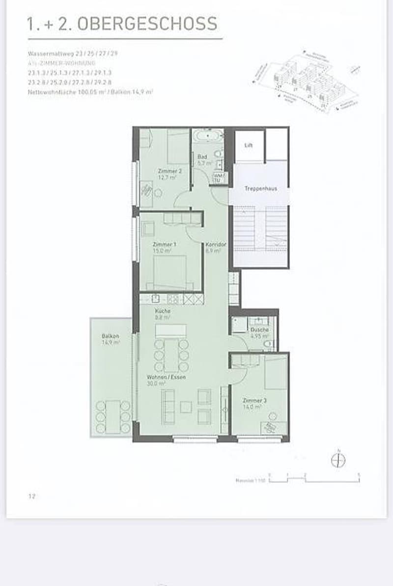 4.5 Zimmerwohnung inkl. EHP (1)