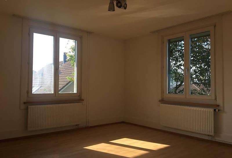 Zu vermieten in Kirchberg (BE) 4 Zimmer Altbauwohnung (1)