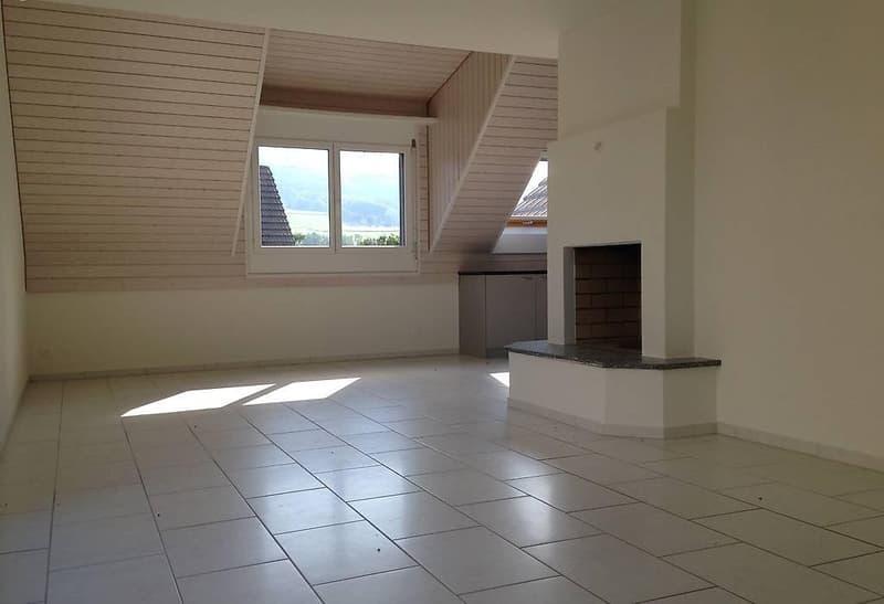 Wunderschöne 5.5 Zimmer Dach-Maisonette Wohnung (1)