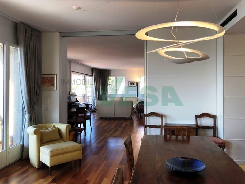 Elegante appartamento 4,5 locali affittato con splendida vista lago (2)