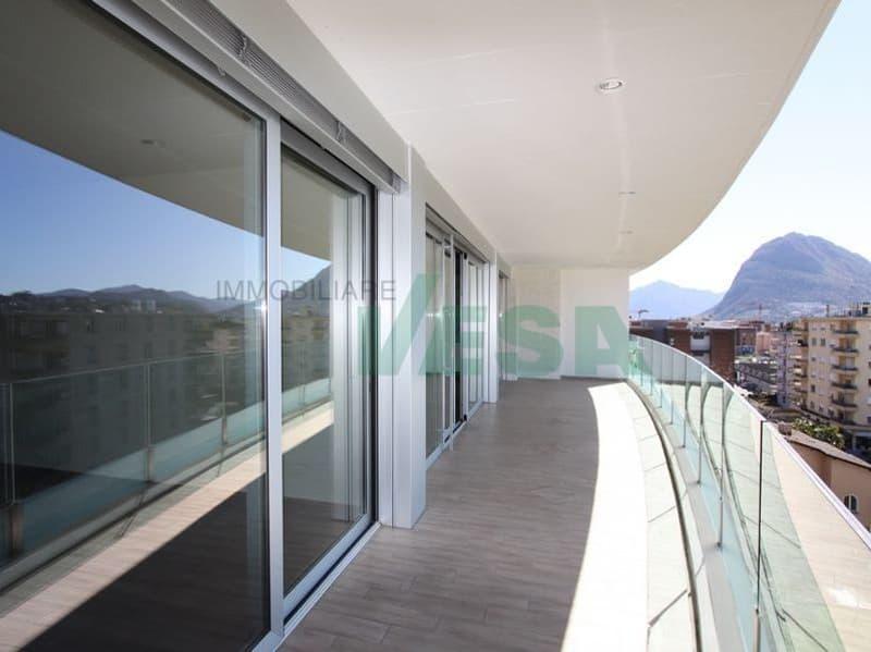 Splendido attico 4,5 locali con grande terrazza roof-garden panoramica (1)
