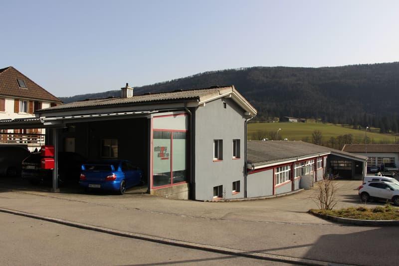 Gewerbeliegenschaft / Immeuble industrielle, Corgémont (6)
