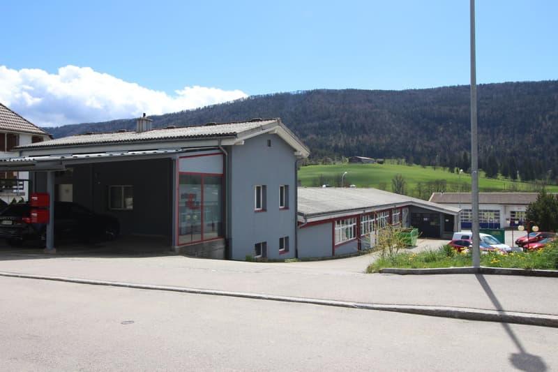 Gewerbeliegenschaft / Immeuble industrielle, Corgémont (1)