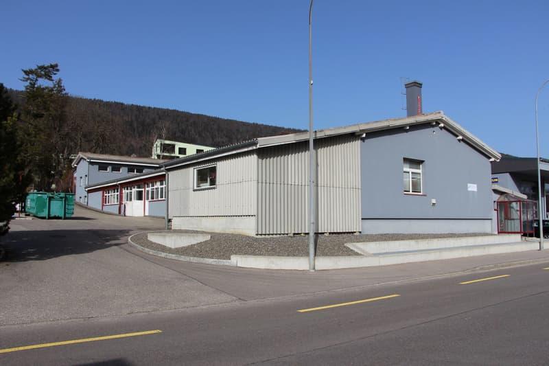 Gewerbeliegenschaft / Immeuble industrielle, Corgémont (2)