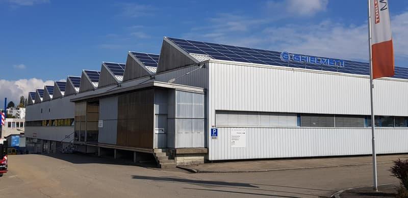Gebäudeansicht Industriestrasse 6, Biberist
