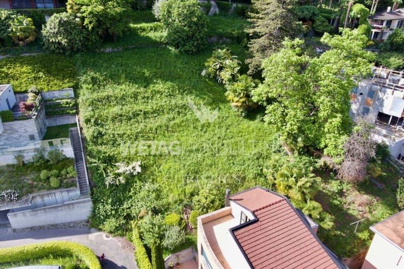 Bauland mit Blick auf den Luganersee in prestigeträchtigem Wohnviertel zu verkaufen (2)