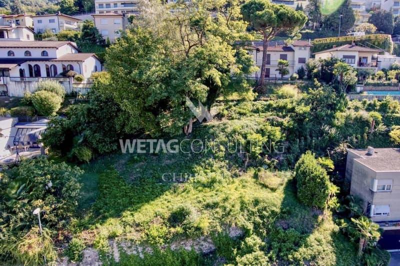 Bauland in Viganello nahe des Zentrums & mit Blick auf den Luganersee zu verkaufen (2)