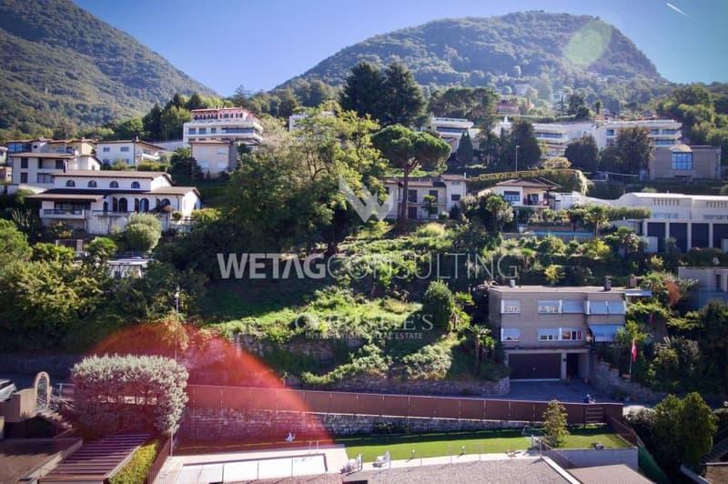 Bauland in Viganello nahe des Zentrums & mit Blick auf den Luganersee zu verkaufen (9)