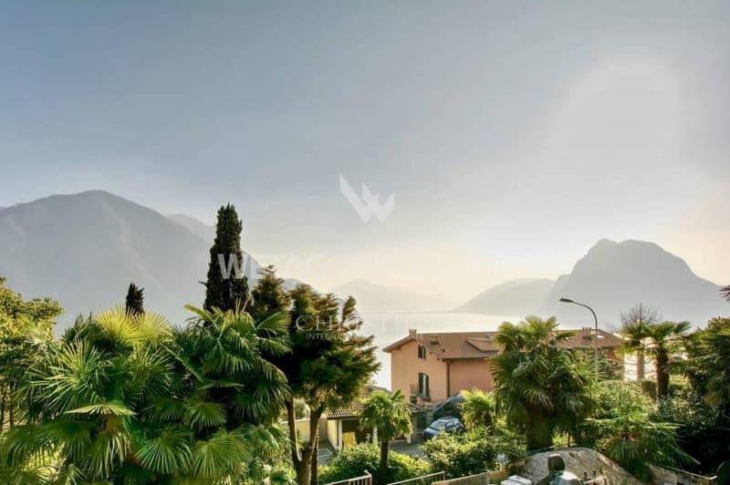 Villa in Ruvigliana mit atemberaubender Sicht auf den Luganersee zu verkaufen (2)