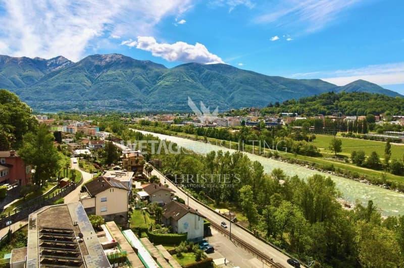 Schönes Bauland in Solduno mit Panoramablick zu verkaufen (2)
