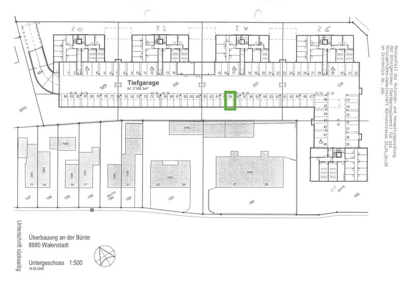 Tiefgaragenparkplatz im Verkauf (2)