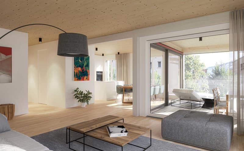 Neubau Stadtergasse: Wohnkomfort dank Holzbauweise (2)
