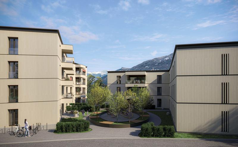 Neubau Stadtergasse: Wohnkomfort dank Holzbauweise (1)