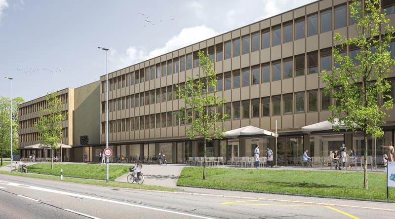 Bürohaus (Visualisierung)