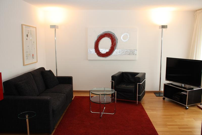 Quiet and bright spot - fully furnished and serviced 1BR apartment - Hösch 3 (2)