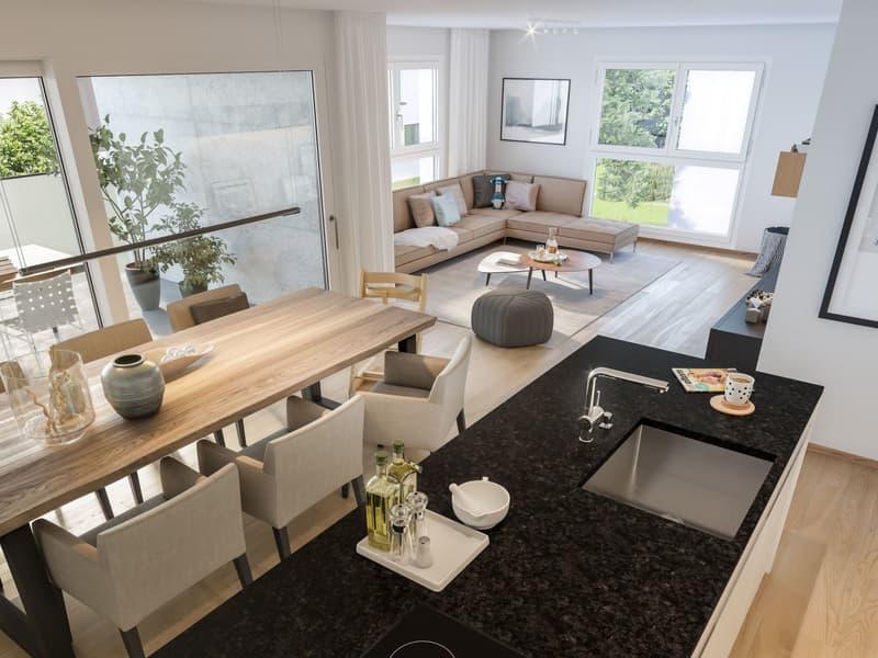 4.5-Zimmer-Wohnung ¦ Neubau Schellenberg, Cazis (2)