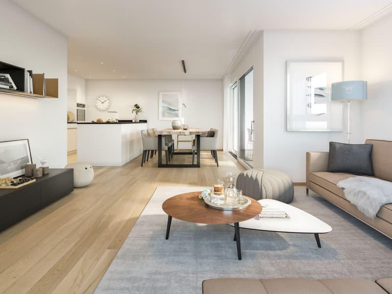 4.5-Zimmer-Wohnung ¦ Neubau Schellenberg, Cazis (1)