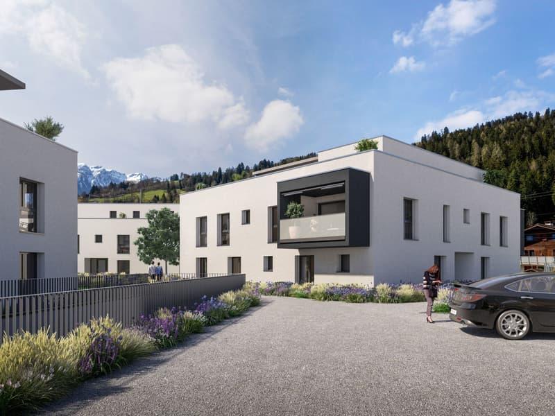 2.5-Zimmer-Wohnung ¦ Neubau Schellenberg, Cazis (1)