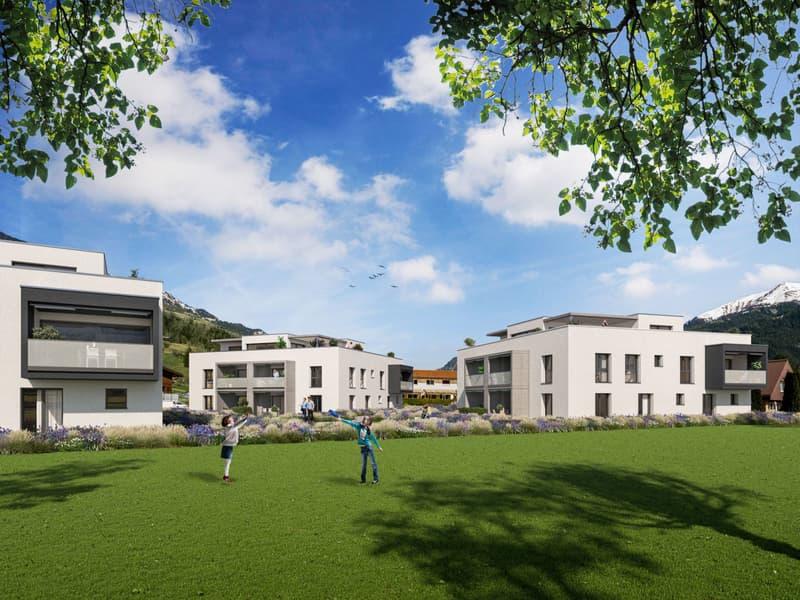 2.5-Zimmer-Wohnung ¦ Neubau Schellenberg, Cazis (2)