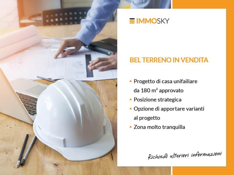 Terreno edificabile con progetto approvato (3)
