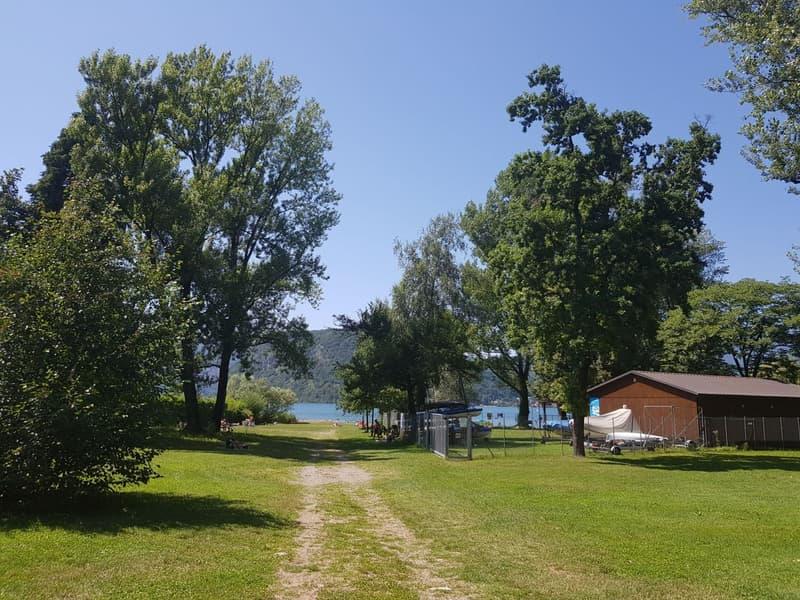 Ad un passo dal lago