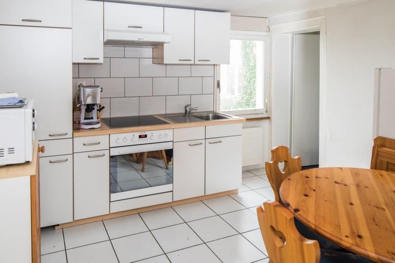 Küche in der 2 Zi.-Wohnung