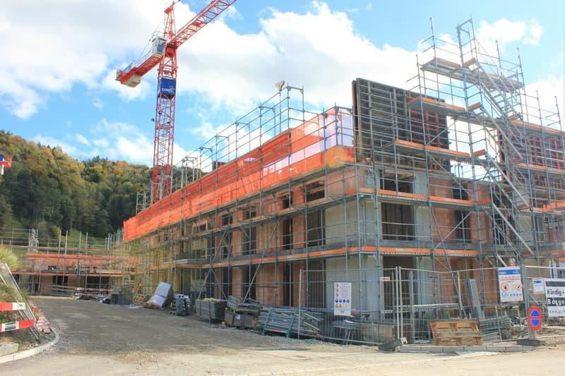 Baufortschritt Oktober 21