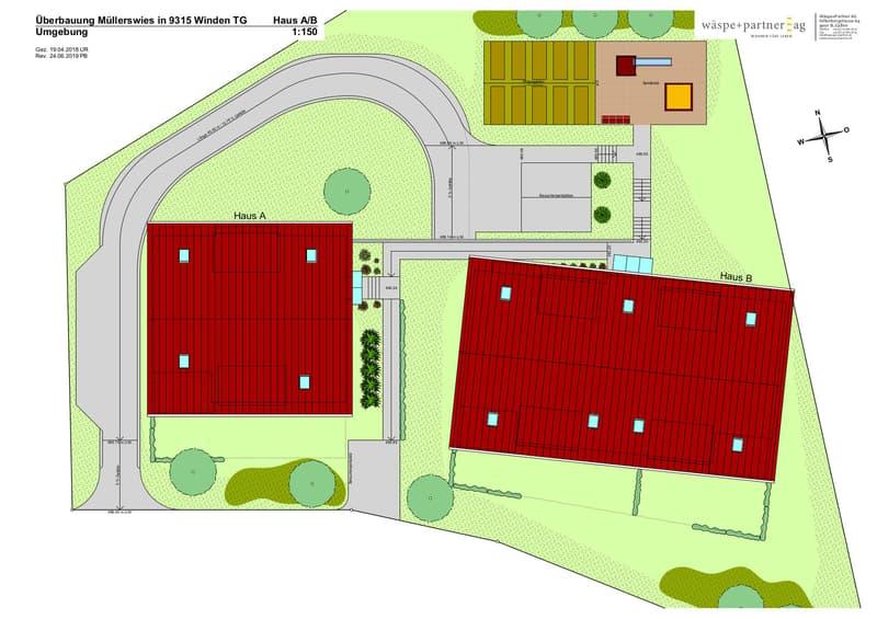 Extra breiter Tiefgaragenplatz in neuer Überbauung mit Eigentumswohnungen (4)