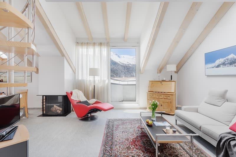 5 ½ Zimmer-Möblierte Wohnung, 7513 Silvaplana-Surlej (2)