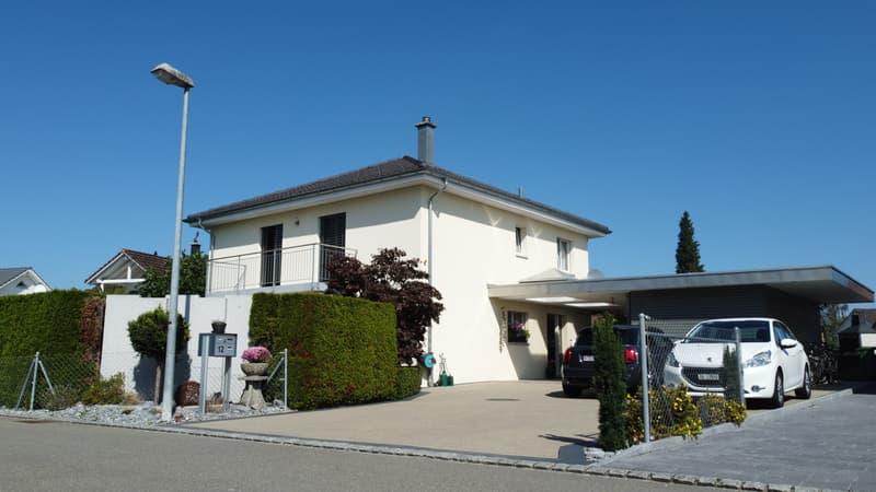 6½ Zimmer Einfamilienhaus an sonniger und sehr ruhiger Wohnstrasse (1)