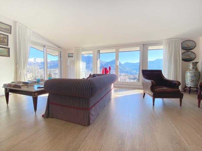 Elegante casa con 2 appartamenti separati, nel nucleo di Breganzona! (2)