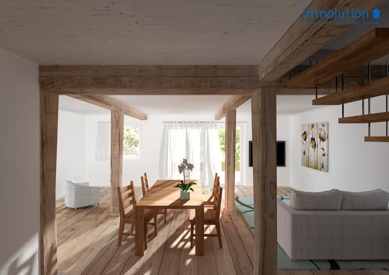 Innenraum Umbau Haus Ost
