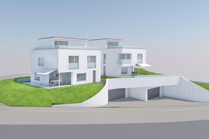 Neues exklusives 6,5-Zimmer-Einfamilienhaus an Top-Wohnlage zu verkaufen (1)